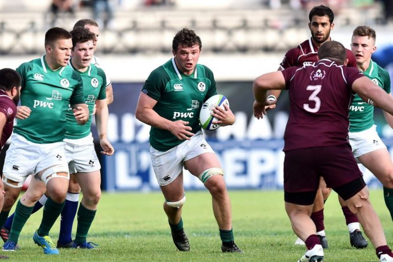 Ireland U20s Named For Japan Clash