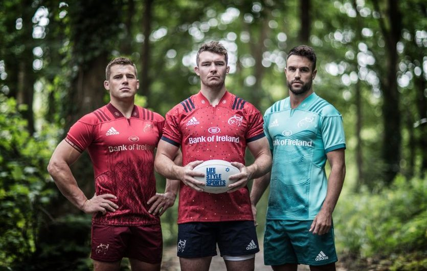 af5e83d1cc8 CJ Stander, Peter O'Mahony and Conor Murray at the launch of the new