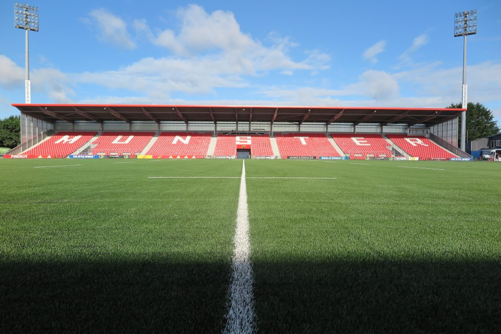 The new modified 3G surface at Irish Independent Park.