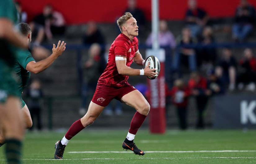 Mike Haley makes his first start for Munster against Exeter Chiefs on Friday night.