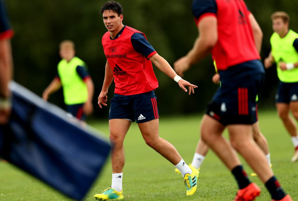 Joey Carbery is enjoying his early weeks at Munster.