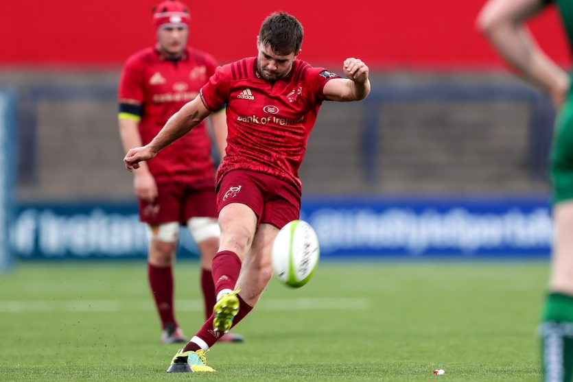 Bill Johnston kicked four penalties and a conversion for Munster A.