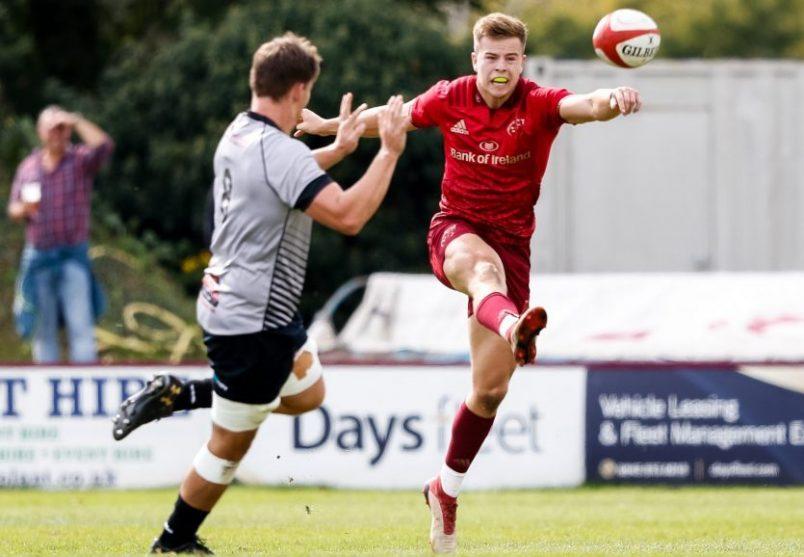 Alex McHenry in action against Ospreys Development.