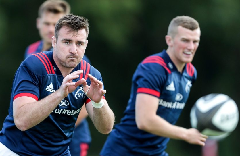 Niall Scannell returns to training.