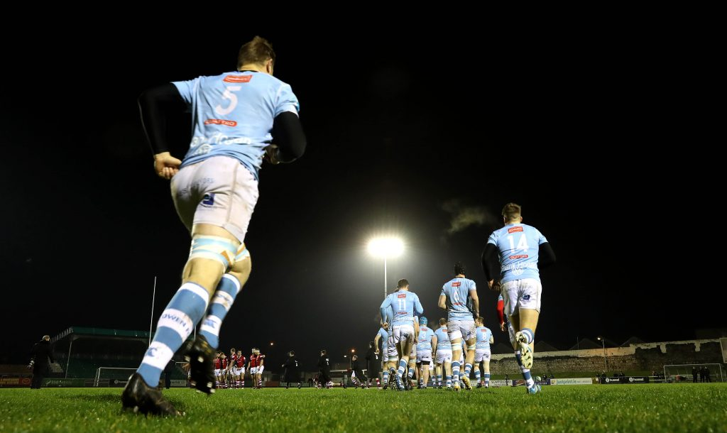 Garryowen entertain Young Munster at Dooradoyle in Division 1A of the All Ireland League.