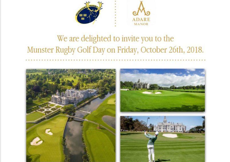 Golf Day At Adare Manor