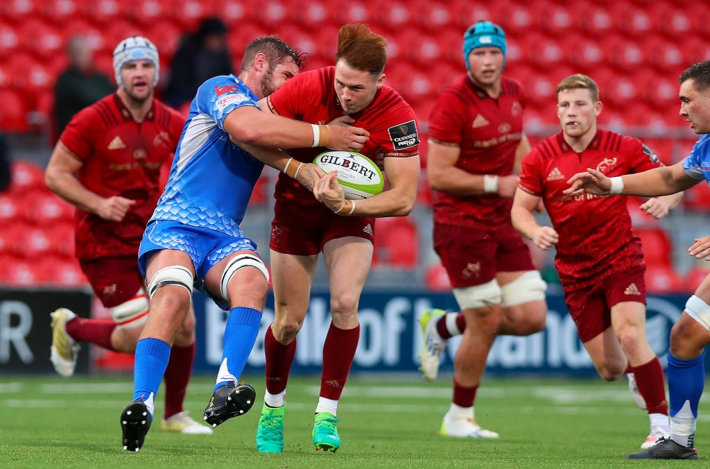 Academy player Sean French makes his first Munster A start in Cardiff tomorrow.