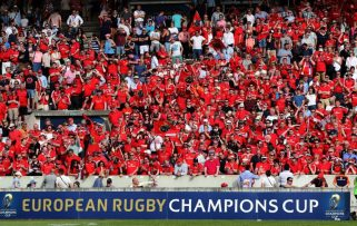 Munster fans travelled in huge numbers to last years Champions Cup semi-final in France.