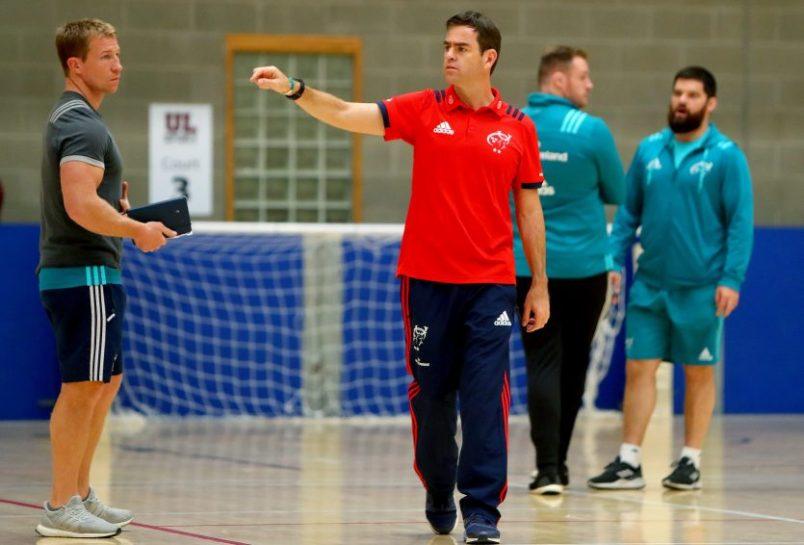 Head Coach Johann van Graan at yesterday