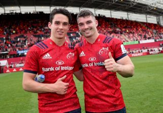 Joey Carbery and Sammy Arnold are both included in the Ireland squad.