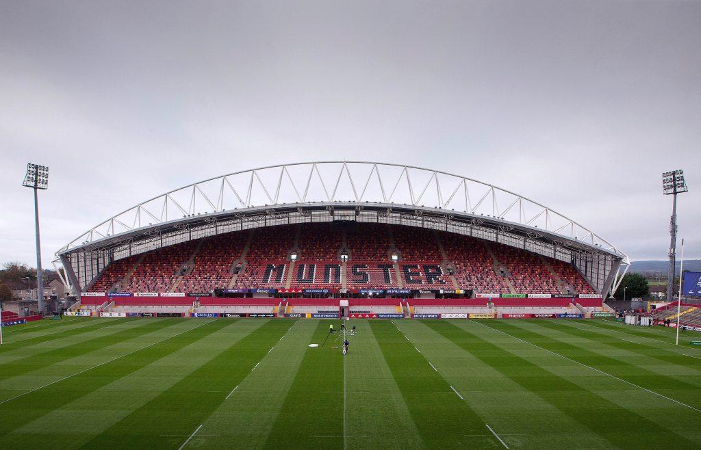 Thomond Park hosts Munster v Glasgow on Saturday evening.