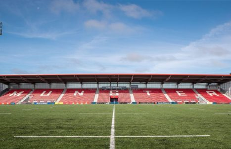 Munster host Edinburgh at Irish Independent Park for Friday Night Lights.