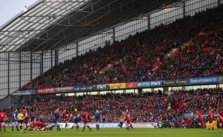 A view of a sold out Thomond Park during last year