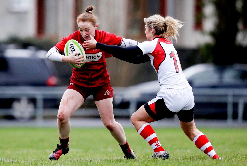Munster's Laura Sheehan will earn her first Ireland cap on Sunday.