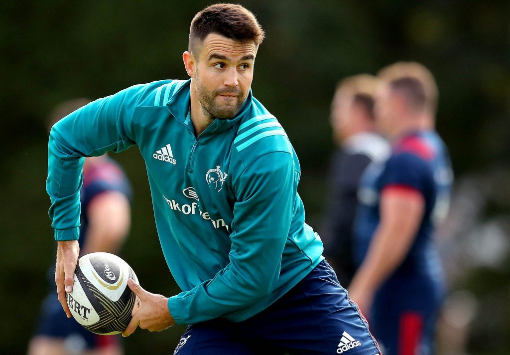 Conor Murray has returned to full team training.