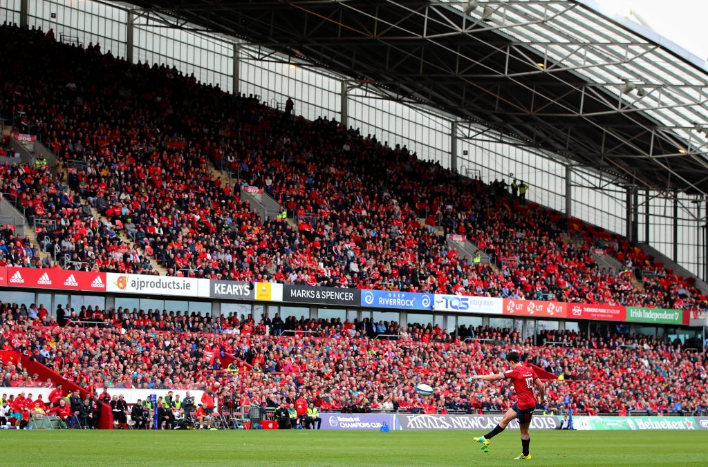 Champions Cup rugby returns to Thomond Park in less than three weeks.