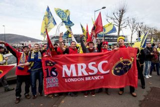 Champions Cup – Munster V Clermont 14.12.14.