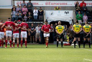 Guinness PRO12 – Ospreys V Munster 13.09.15