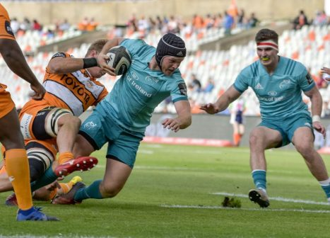 Tyler Bleyendaal and Shane Daly in action against the Cheetahs last time out.