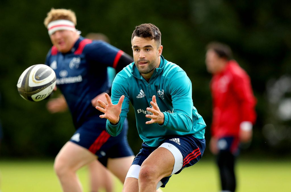 Conor Murray is named among the replacements.