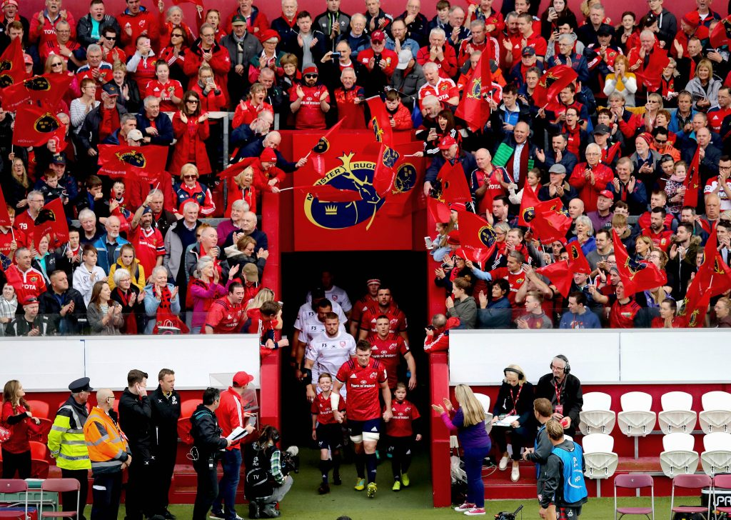Captain Peter O'Mahony will lead out Munster on Sunday.