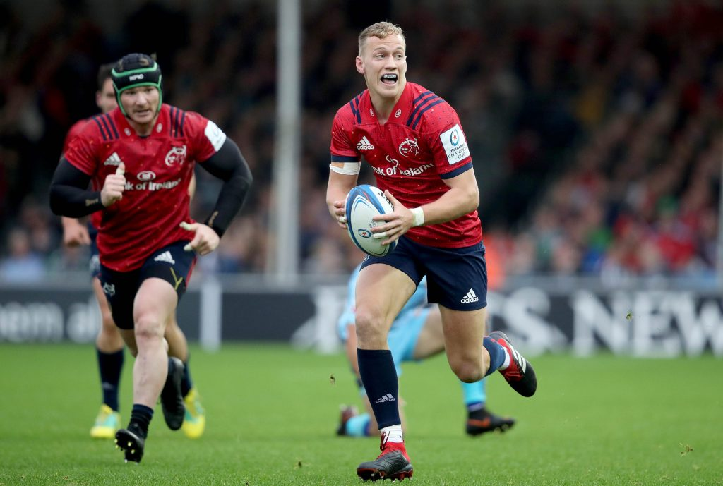 Mike Haley helped Munster to victory over Castres.