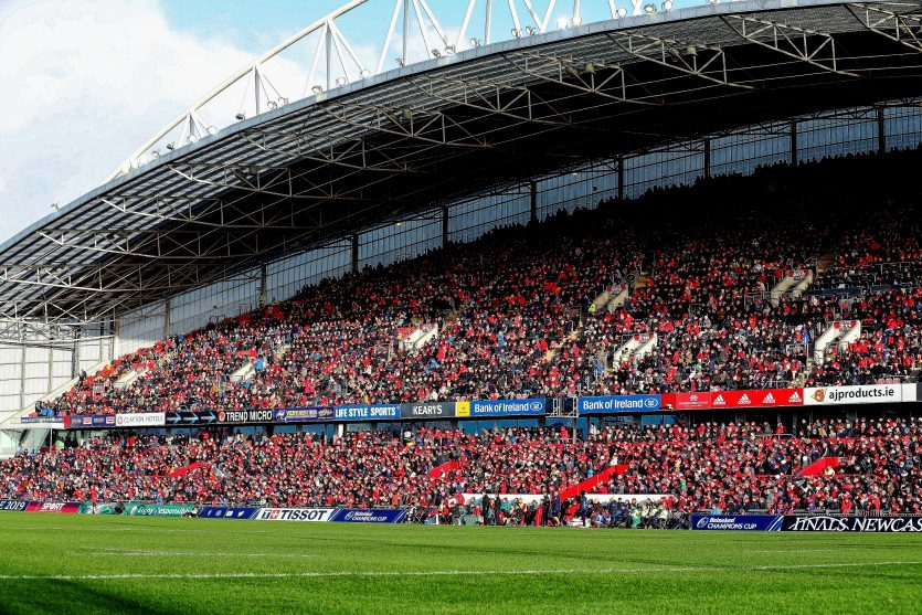 Thomond Park will host Munster v Leinster.