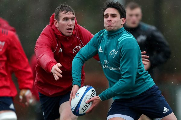 Chris Farrell and Joey Carbery were late withdrawals at the weekend.