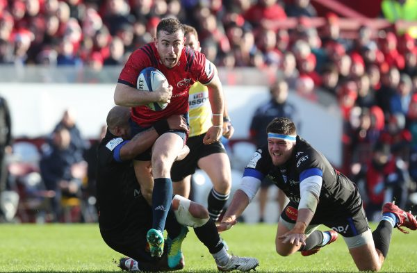 JJ Hanrahan was awarded Man of the Match on Sunday at Thomond Park.