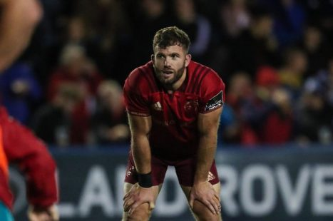 Jaco Taute captains Munster for the first time against Ulster on Friday night in Belfast.