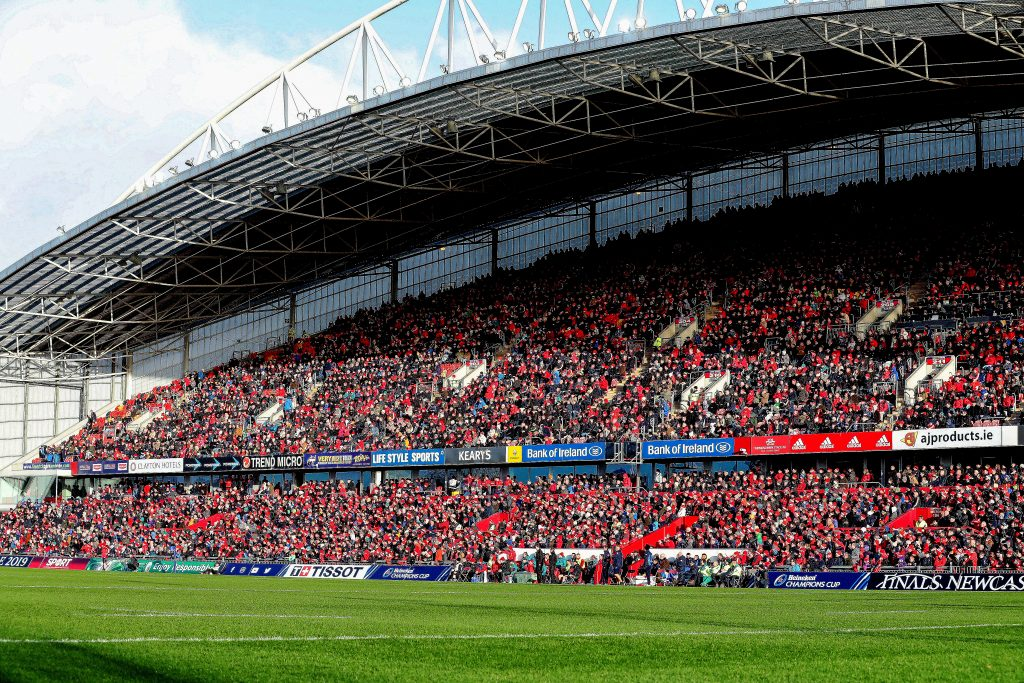 A joint-record attendance of 26,267 will attend Munster v Leinster on Saturday evening.