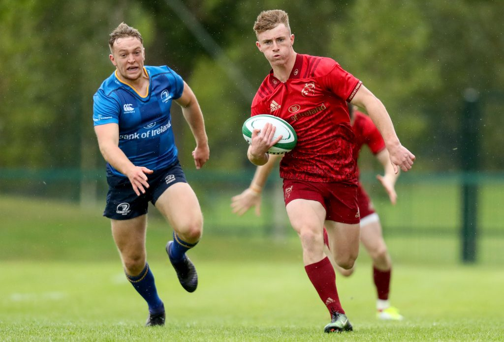Jonathan Wren in action for the Munster U19s last season.