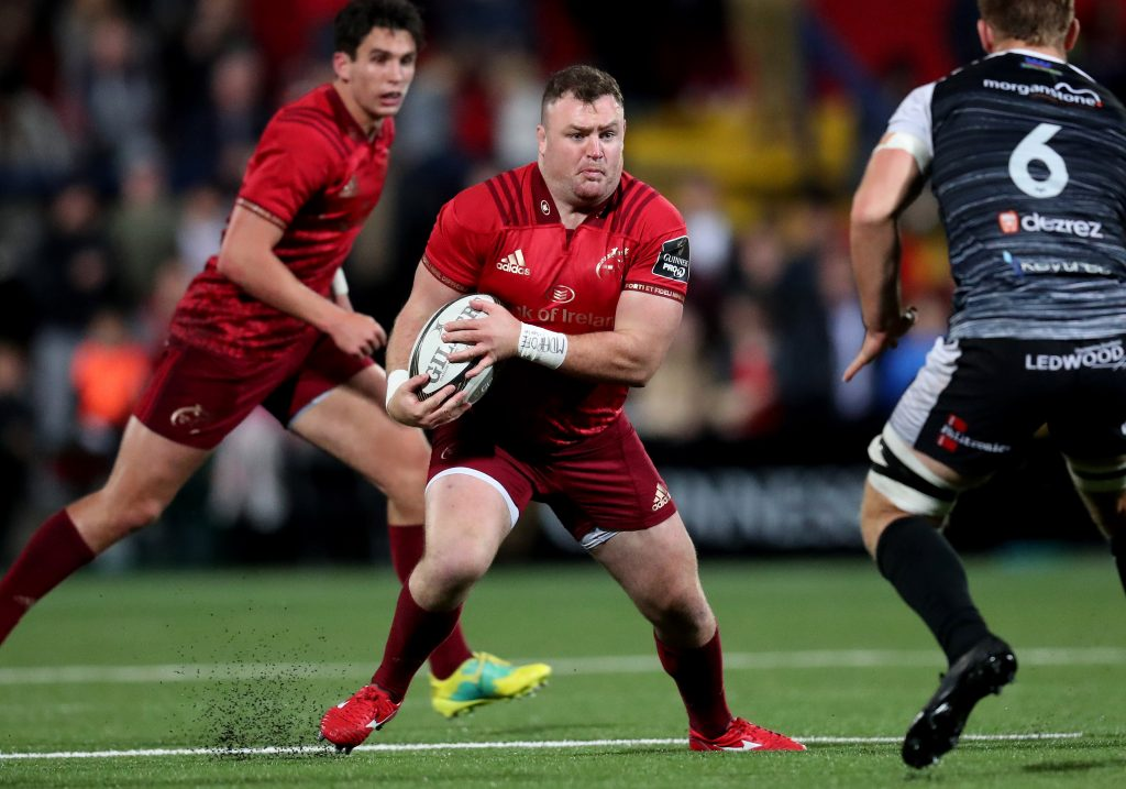 Dave Kilcoyne is one of 11 Munster players named in the Ireland squad.