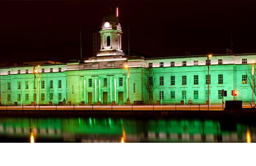 Cork City hall will be going green for the Ireland U20s.