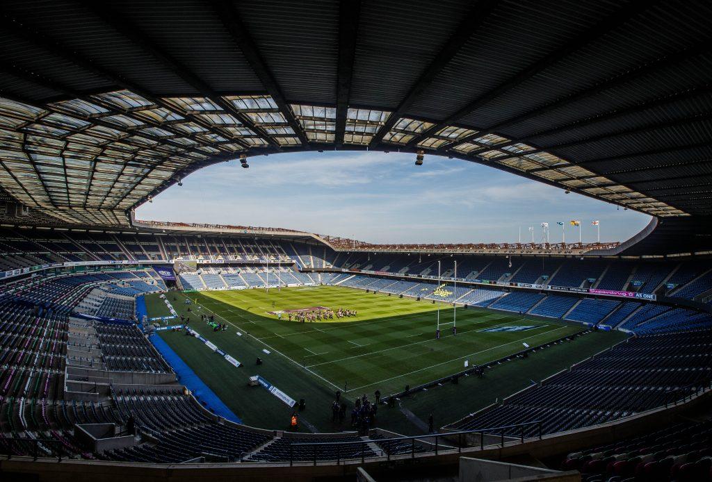 67,000 capacity Murrayfield hosts Edinburgh v Munster.