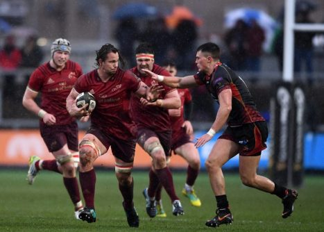 Arno Botha in action against Dragons.