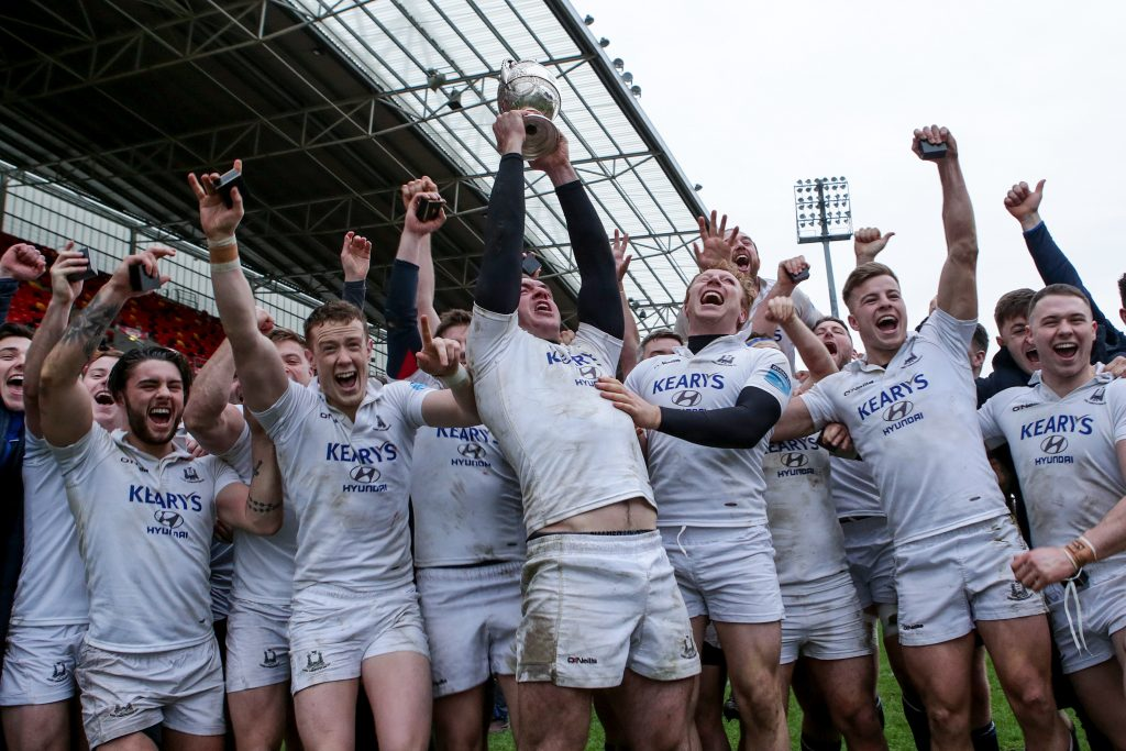 Cork Constitution defeated Garryowen to win the Bank of Ireland Munster Senior Challenge Cup.