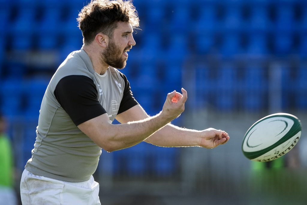 Eoghan Clarke training with the Ireland U20s.