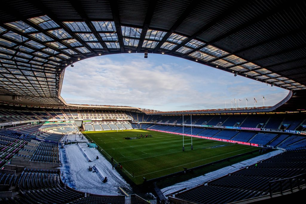 Murrayfield hosts the Champions Cup quarter-final.