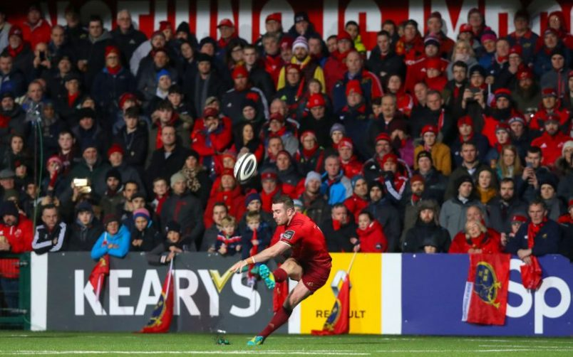 Guinness PRO14 rugby returns to Irish Independent Park on Friday night.