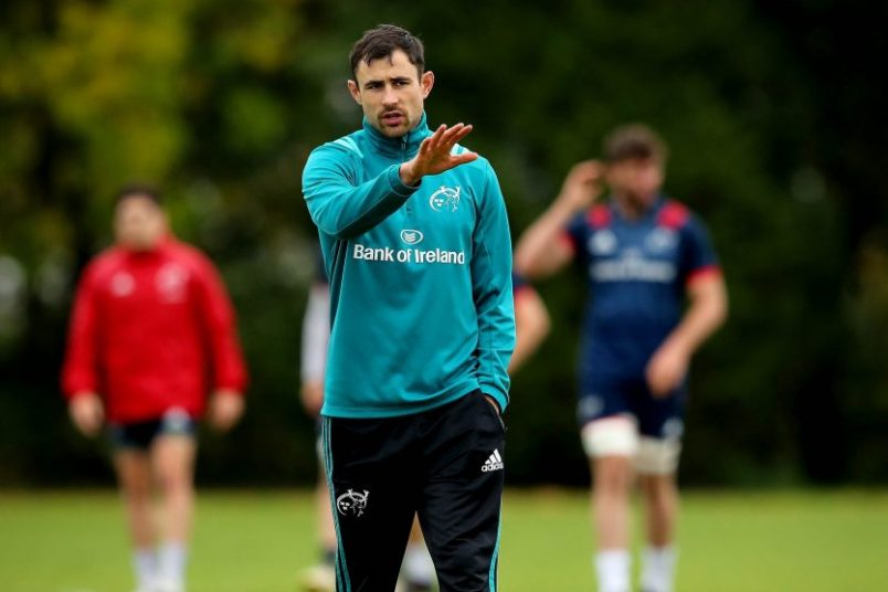 Munster Backline & Attack Coach Felix Jones.