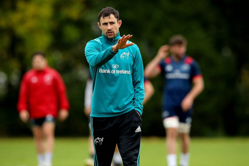 Munster Backline & Attack Coach Felix Jones.