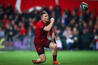 Andrew Conway starts for Munster at Irish Independent Park on Friday night.