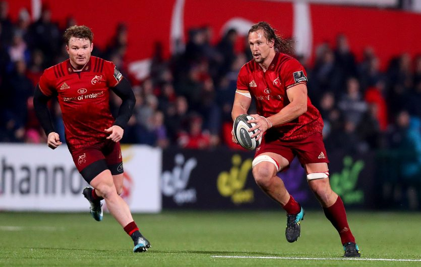 Chris Cloete and Arno Botha both start for Munster on Friday night.
