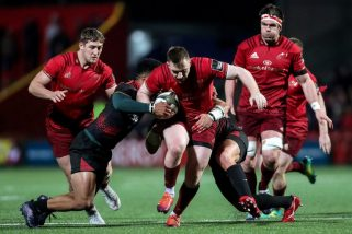 Rory Scannell scored a try and kicked four conversions in Friday night