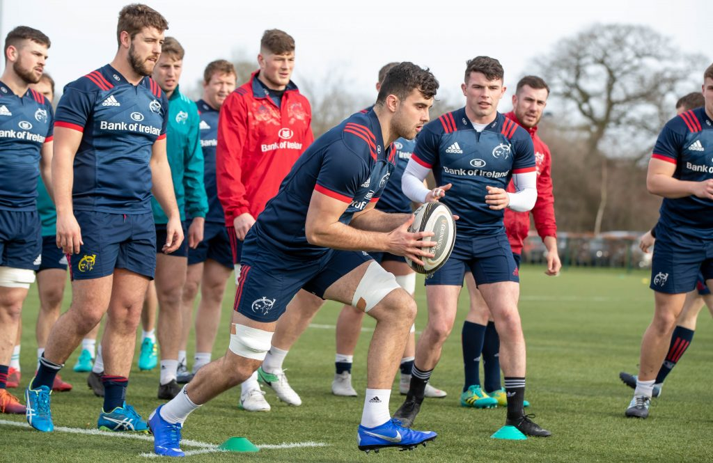 Jack O'Sullivan has returned to training after the knee injury he sustained last year.