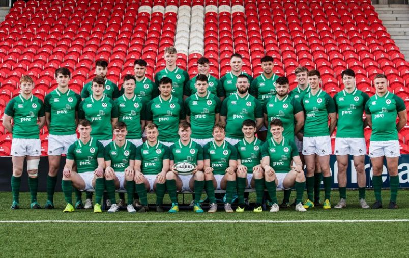 The Ireland U20s played at Irish Independent Park for the first time in February.