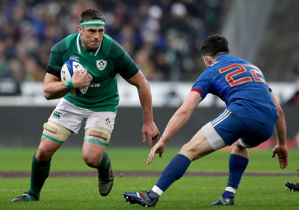CJ Stander starts against France on Sunday after recovering from a facial injury.