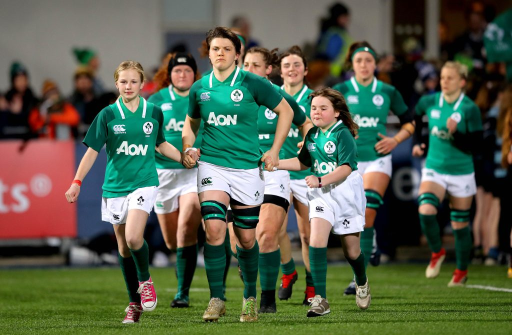 Munster's Ciara Griffin picked up the award for Women's XVs Player of the Year.