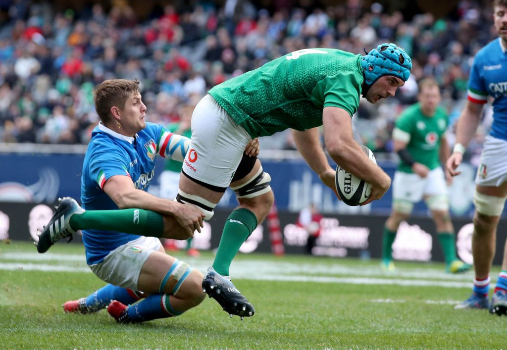 Tadhg Beirne makes his first 6 Nations start against Wales.
